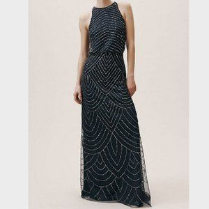 Adriana Papell Madigan dress in Navy